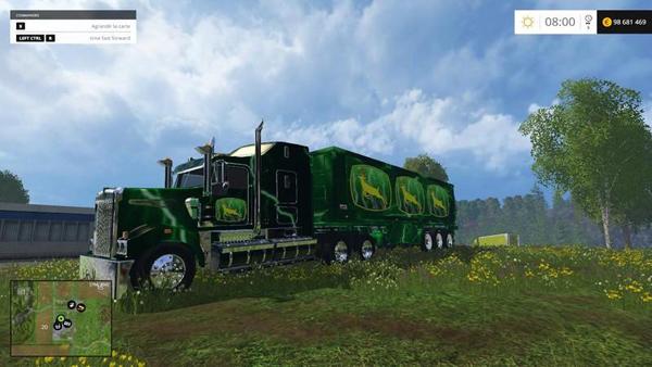 John Deere Truck Trailer v1.0
