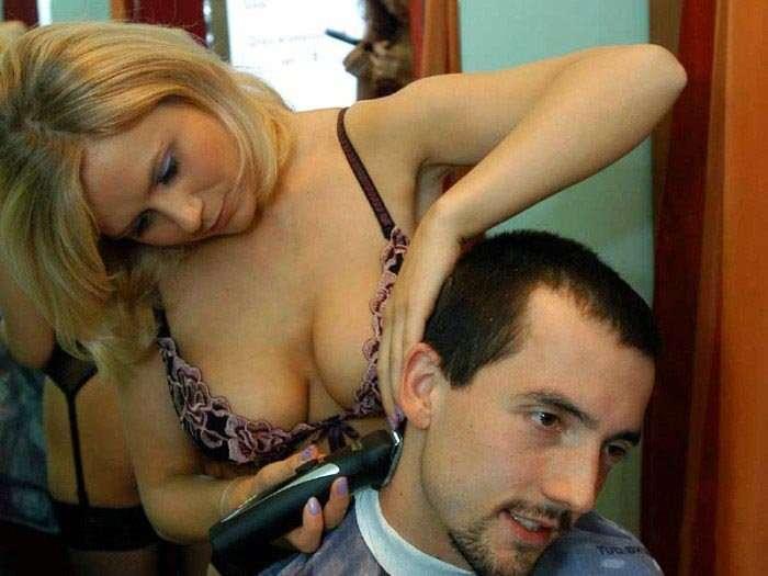 HotCut - fryzjerki w erotycznej bieliźnie 6