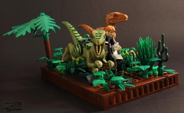 Как сделать лего парк юрского периода