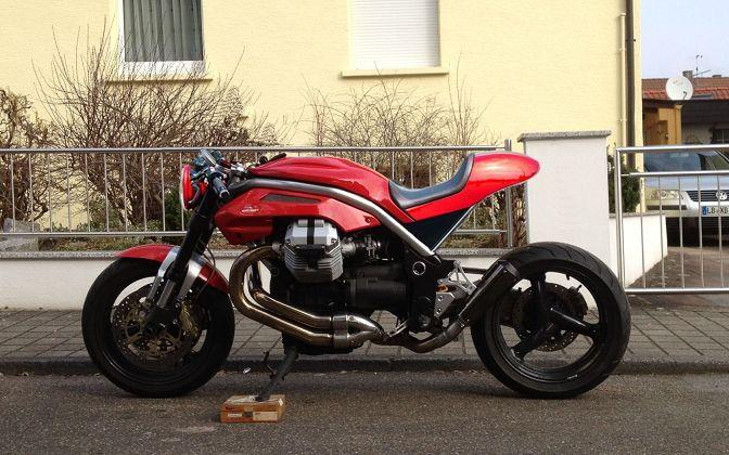 Moto Guzzi Sitzbank Cafe Racer