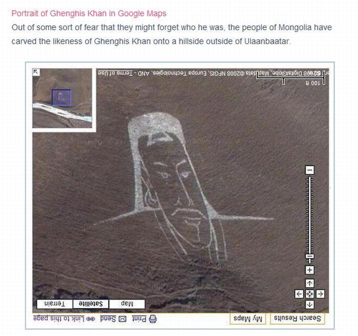 Najciekawsze miejsca na mapach Google 22