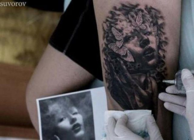 Świetne tatuaże #6 65