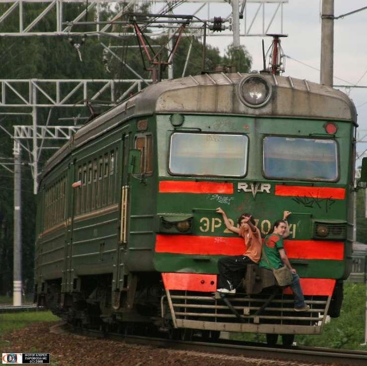 Ekstremalna jazda pociągiem 9