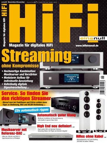 Hifi-Einsnull Magazin für digitales HIFI-November-Dezember No 05 2018