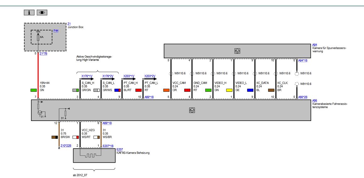 Atemberaubend Schaltplan Bmw F11 Galerie - Elektrische Schaltplan ...