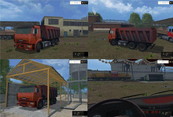 KAMAZ-6520 Washable