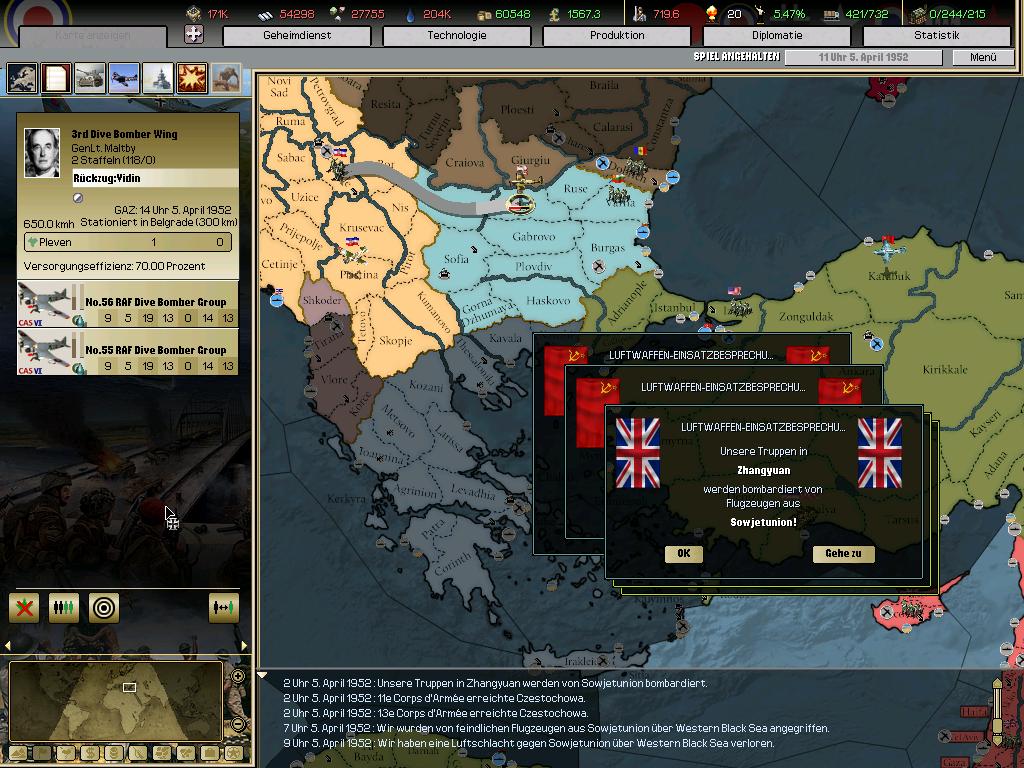 Pomp and circumstance gro britannien aar 1736 1953 archiv seite 3 strategycon interactive foren