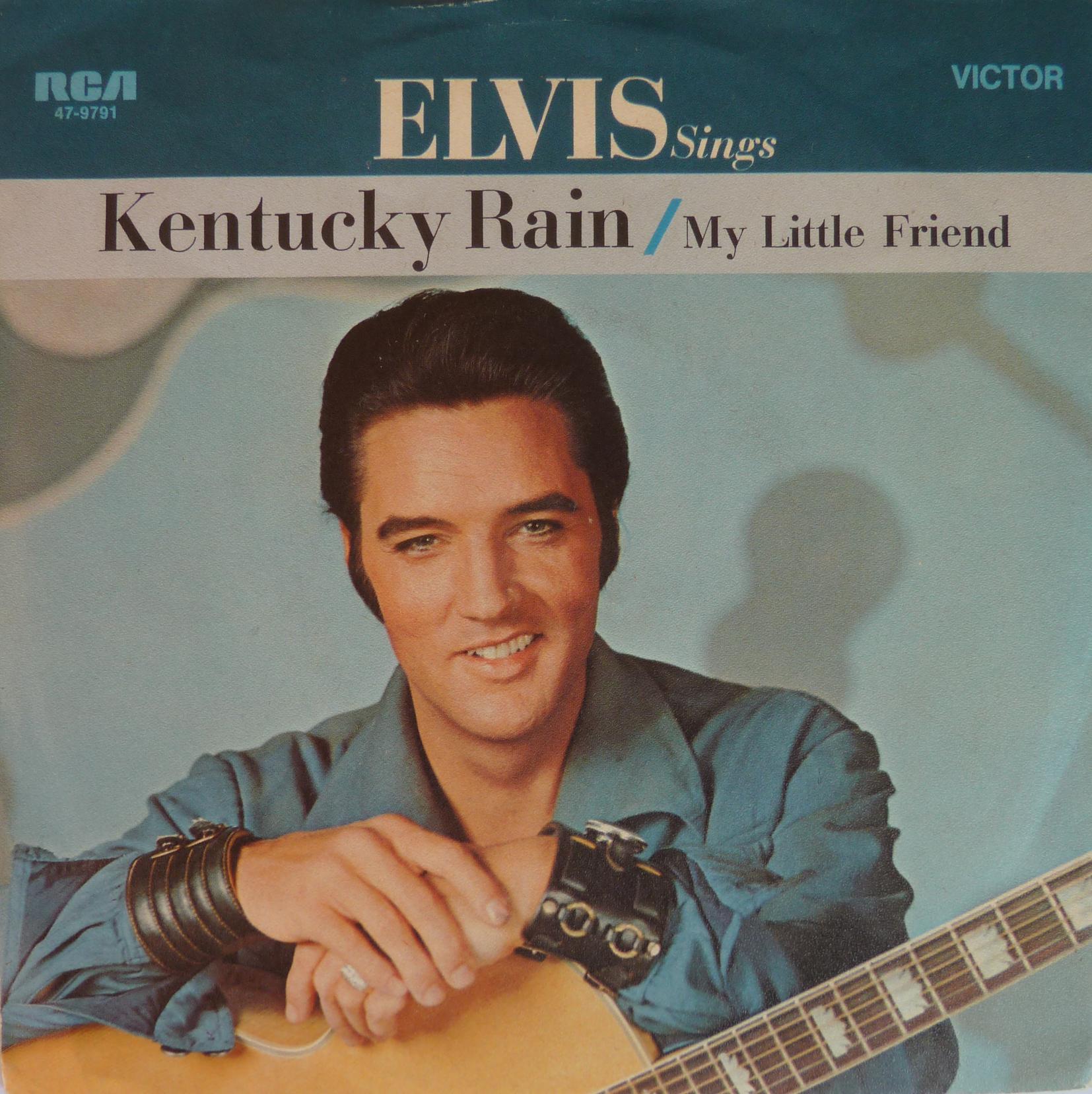 Kentucky Rain / My Little Friend Kentuckyraino1frontillq3