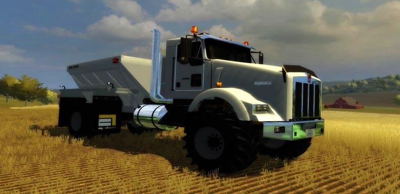 Kenworth T800 Fertilizer Spreader