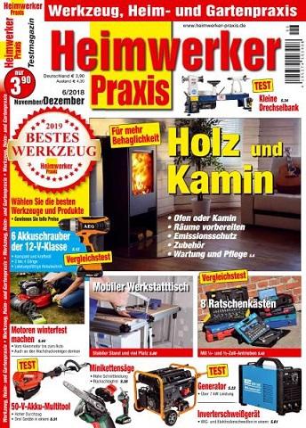 Heimwerker Praxis Magazin November-Dezember No 06 2018