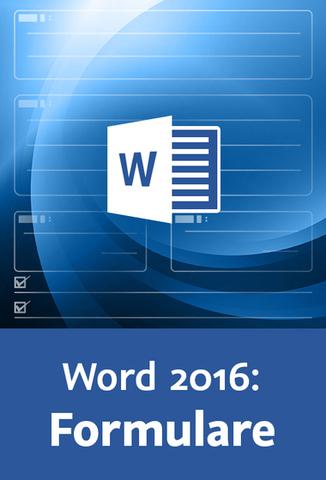 : Video2Brain - Word 2016 Formulare