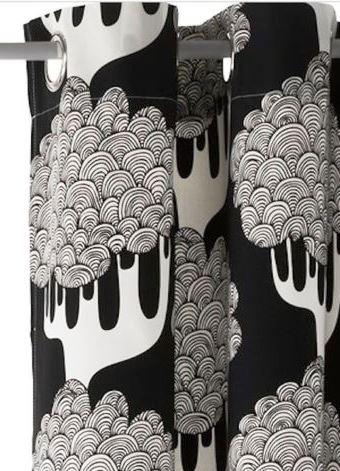 ikea gardinen im set vorh nge 2 schals stores mit sen. Black Bedroom Furniture Sets. Home Design Ideas