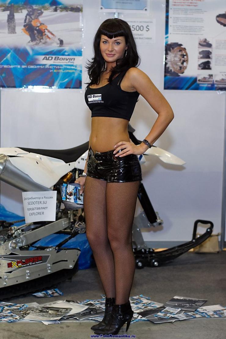 Dziewczyny z pokazów motocyklowych 3