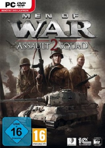 Men of War - Assault Squad 2 Deutsche  Texte, Untertitel, Menüs Cover