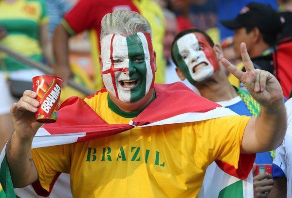 Kibice Mistrzostw Świata w Piłce Nożnej 2014 14