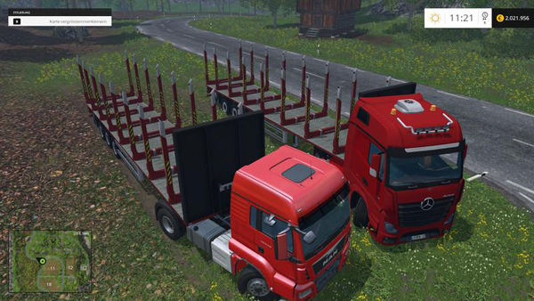 Kogel timber semi trailers v1.0