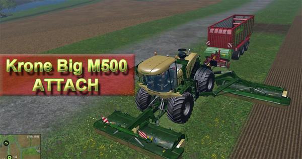 Kone Big M500 ATTACH v1.0
