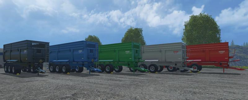Krampe Big Body 900S v2.0 Farbwahl