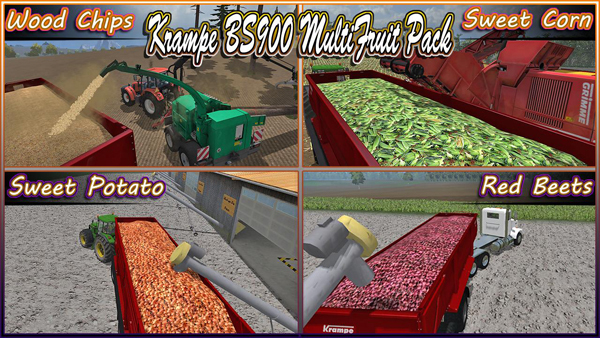 Krampe BS900 MultiFruit Four Acres Farm Edition