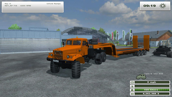KrAZ 255 and CzMZAP 9990 v1.0 [MP]