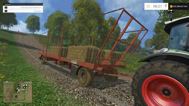 Kroger Agroliner PWS18 v1.0 grun rot