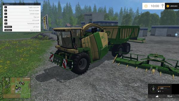 Krone BIG X 650 Cargo 4.3b
