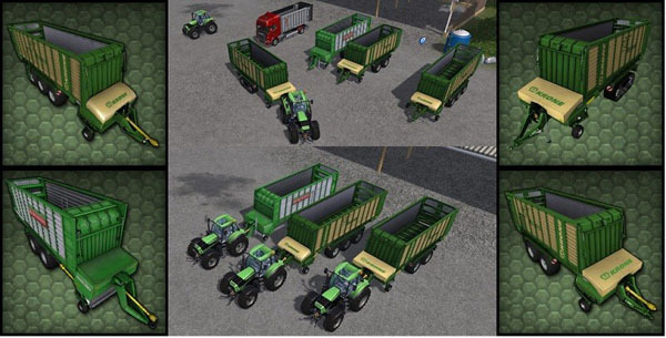 Krone ZX 450 GD PACK v 1
