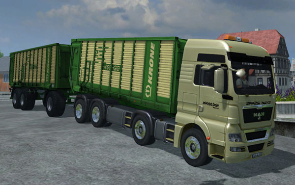 KRONE ZX 550 PACK v 1.0