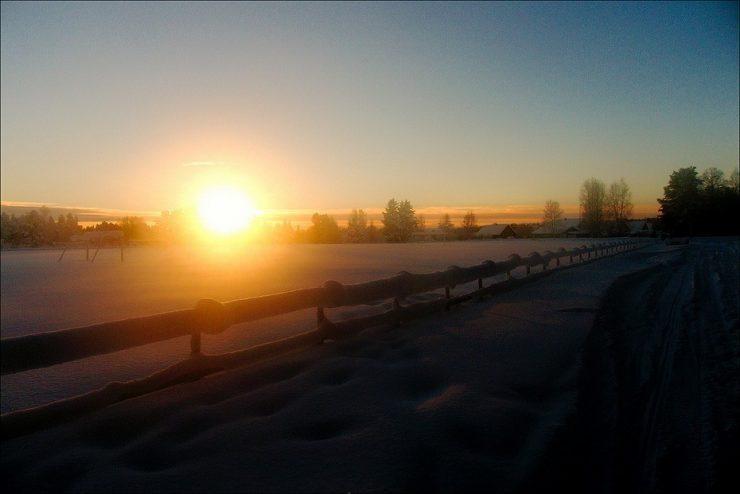 Zimowe krajobrazy 40