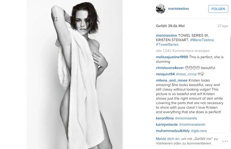 Nacktvideos von Kristen Stewart