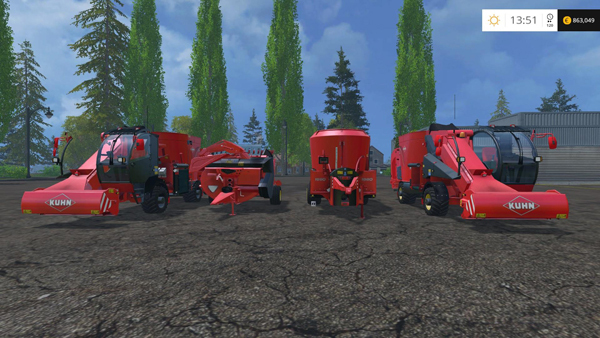 Kuhn Quad Feeder Pack v1.0