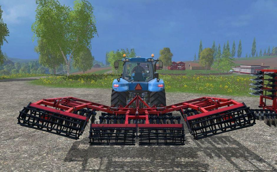 Kuhn Optimer 6M Cultivator FS 2015