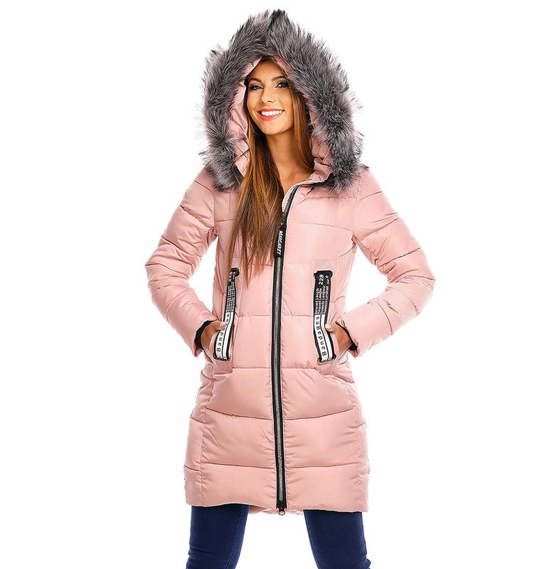 Warme winterjacke damen mit kapuze