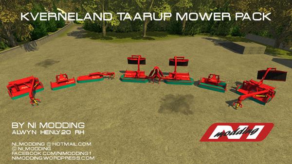 Taarup Mower Pack v 1.0