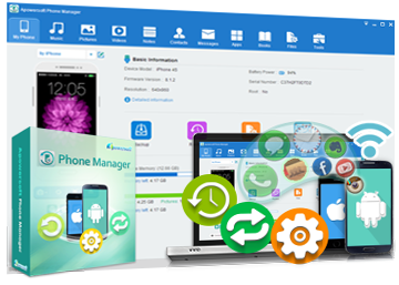 Apowersoft Phone Manager Pro v2.8.9 incl. Portable
