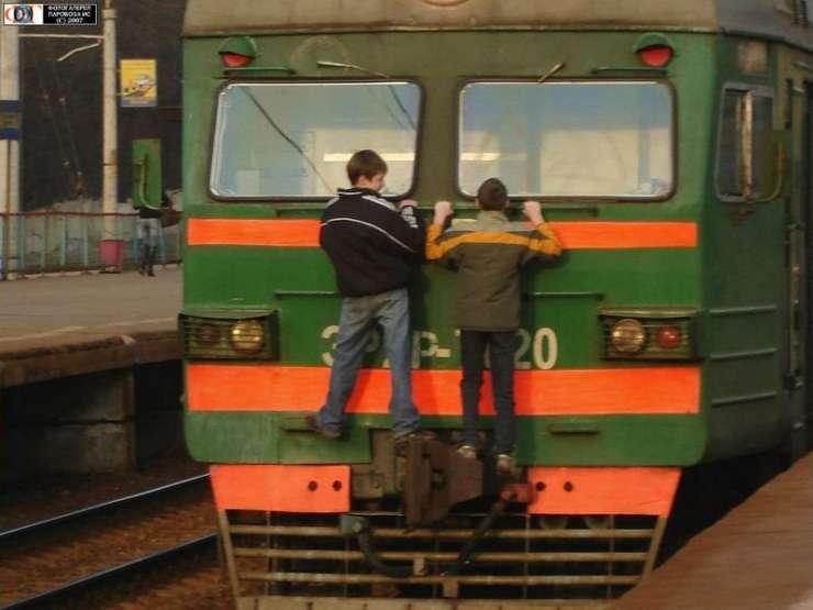 Ekstremalna jazda pociągiem 4