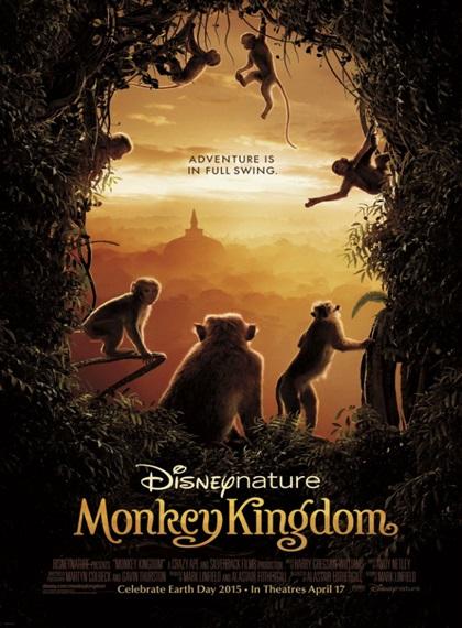 Maymun Krallığı – Monkey Kingdom 2015 BRRip XviD Türkçe Dublaj – Tek Link