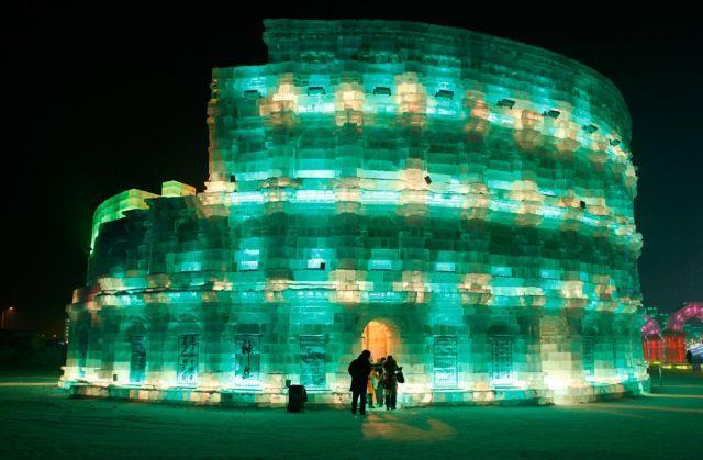 Festiwal rzeźby w śniegu i lodzie 35