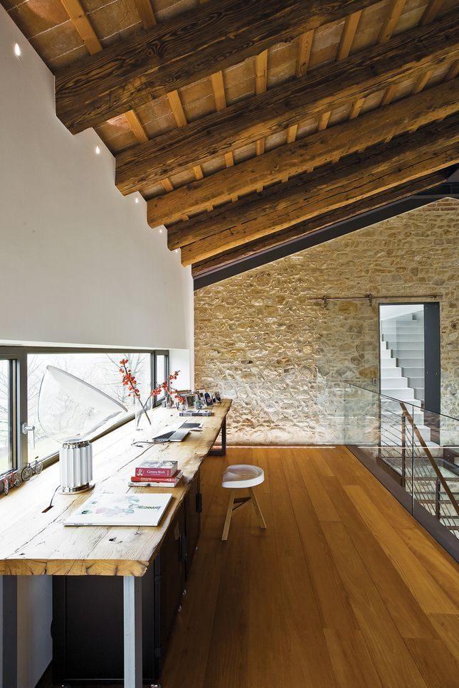 Drewniane belki... 2