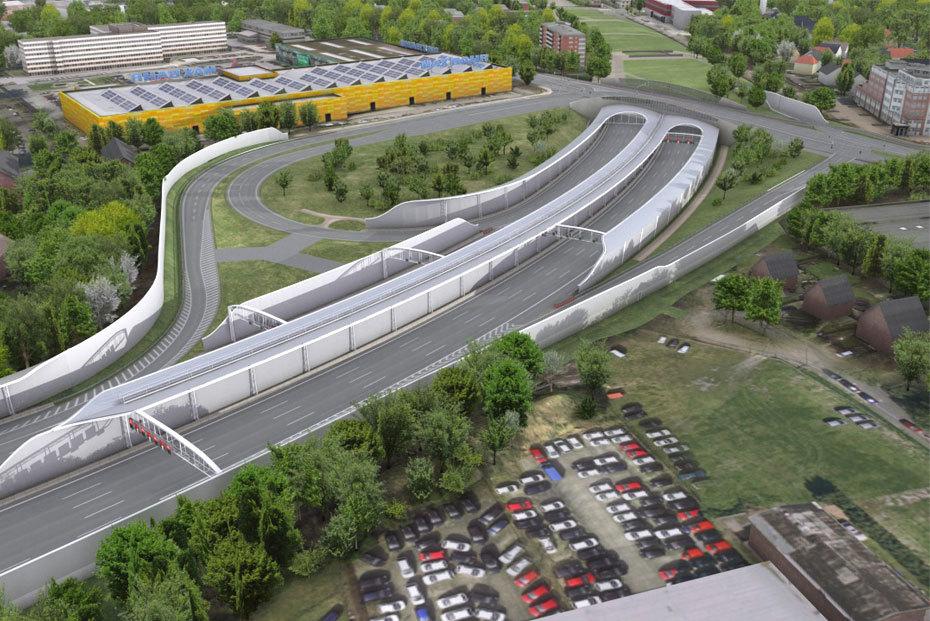 Hamburg infrastruktur ausbau autobahn a7 hamburger for Ausbau a7 zeitplan