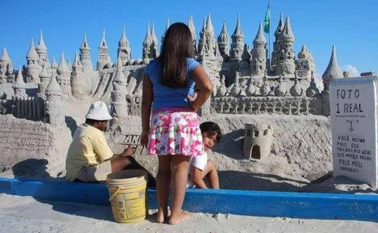 Rzeźby z piasku 15