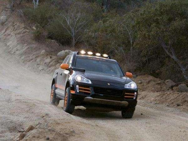 Porsche Cayenne w terenie 6