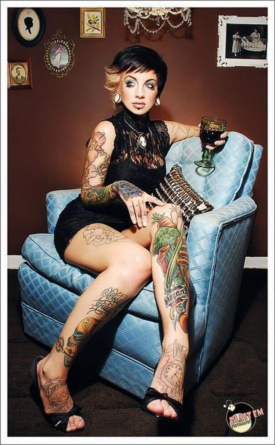 Dziewczyny z tatuażami 22
