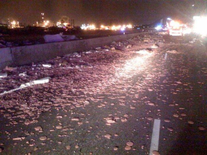Wypadki ciężarówek 34