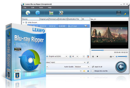 : Leawo Blu-ray Ripper 7.6.0.0 Portable Multilanguage inkl.German