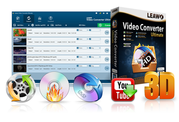 download Leawo Video Converter Ultimate v8.0