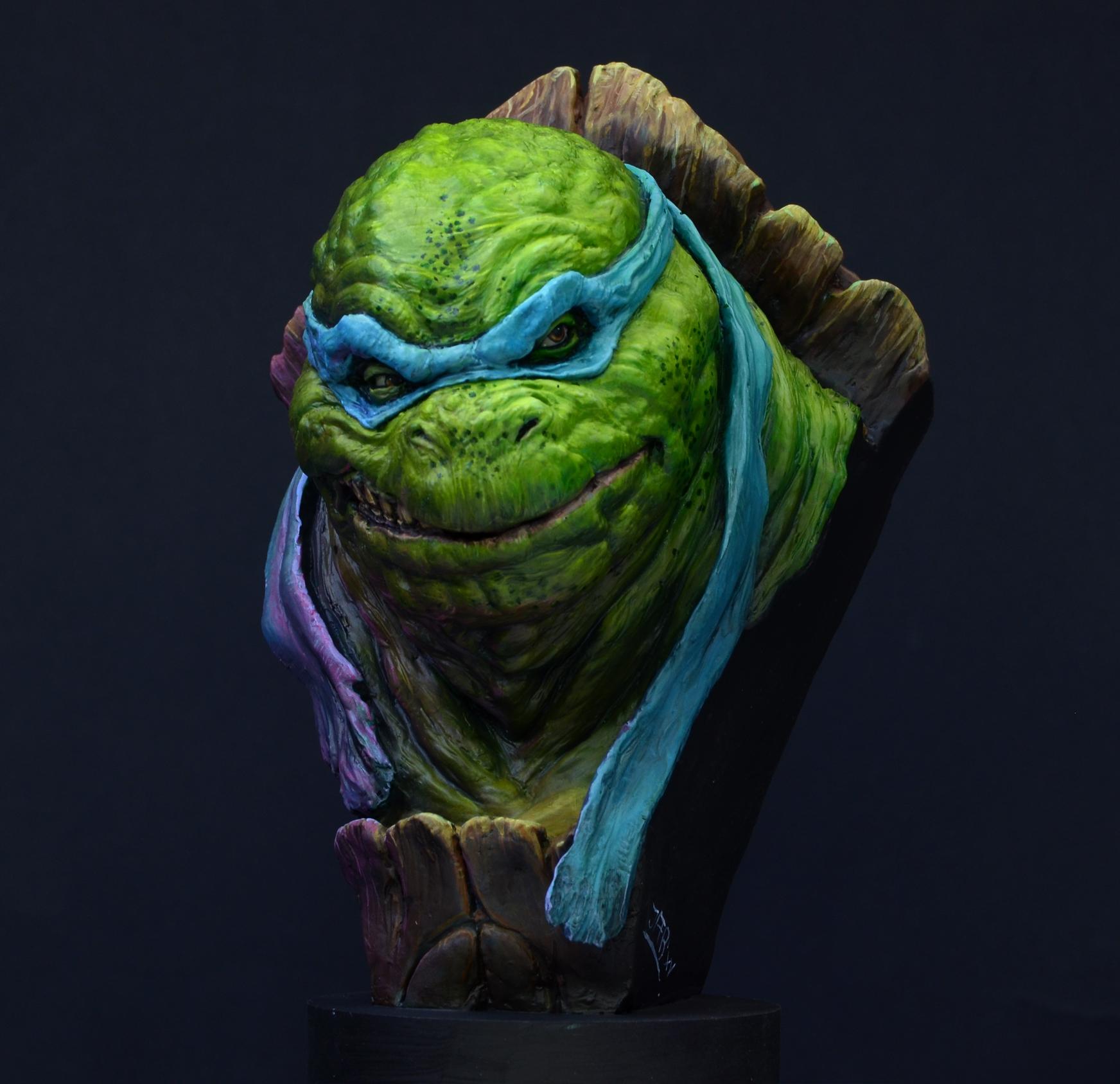 Massive Voodoo: Step by Step: TMNT - Leonardo