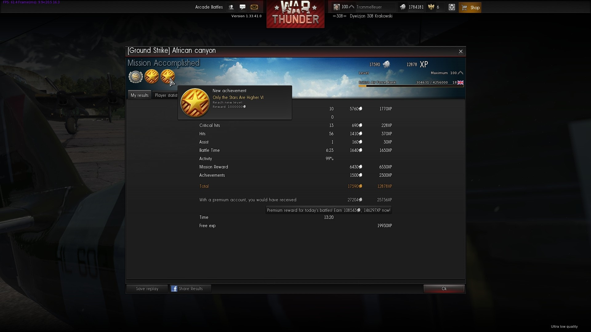 war thunder matchmaking levels War thunder – mmo game preview by matt richardson  multiple levels of realism,  war thunder is a free to play.