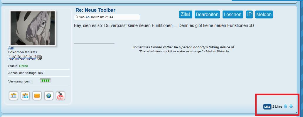 Neue Toolbar Likes1jz0