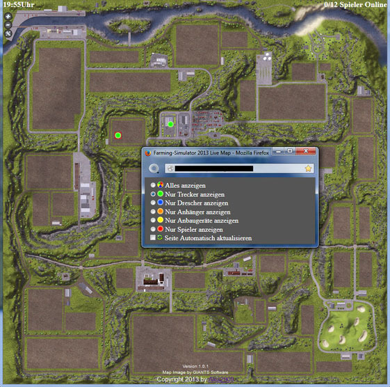 Live Map Mod v 2.2.0